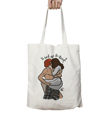 To bed or to sleep - Outlander bolso
