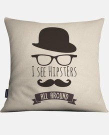 I see hipsters all around