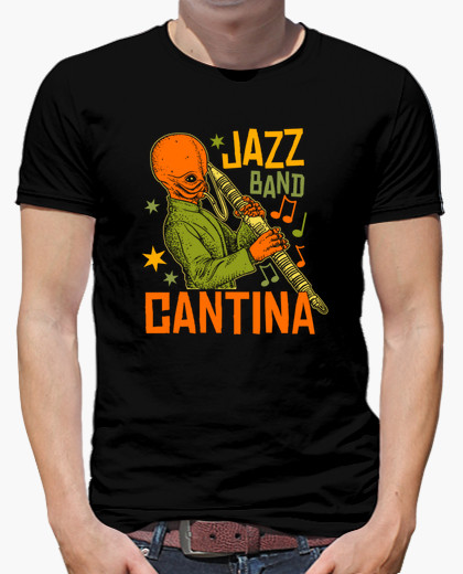 Camiseta Cantina Jazz Band