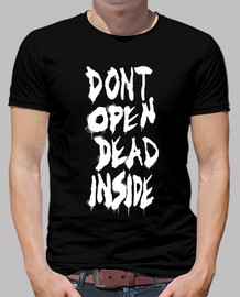 Dont Open de The Walking Dead - Blanco Vertical