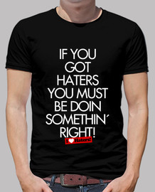 I Love Haters - Camiseta Rubius