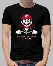 I want to play a game (Camiseta negra)