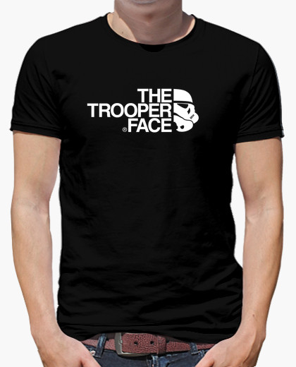 Camiseta The Trooper Face