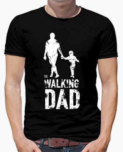 Camiseta The Walking Dad, por mendalpower