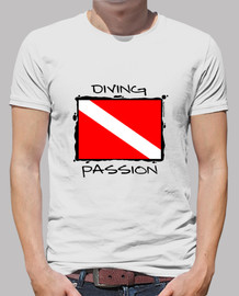 Camiseta buceo Diving Passion