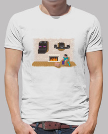 Camiseta Hard day Minecraft