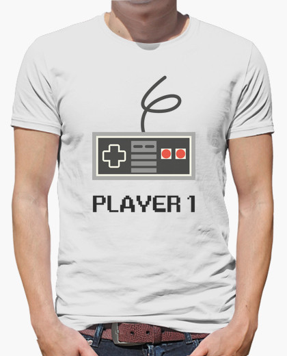 Camiseta Player 1 Papá (Dúo)