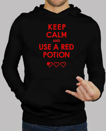 Keep calm and use a red potion